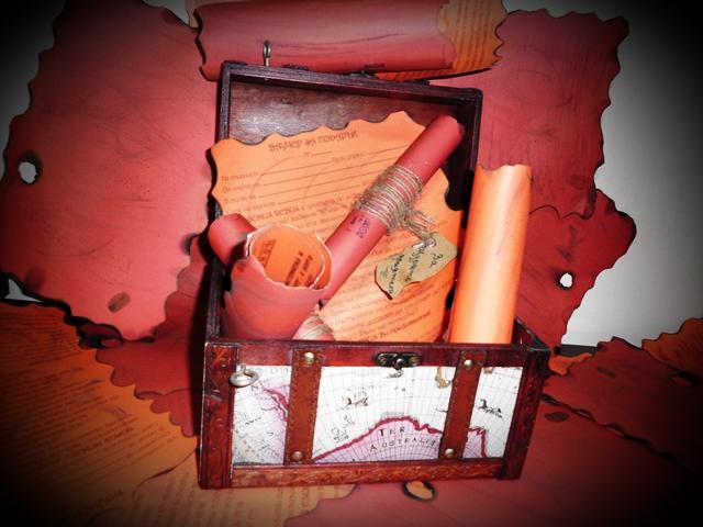DOMUS REBUS ваучер за игра в стая на загадките